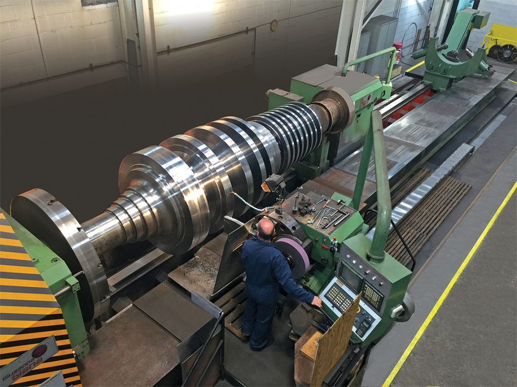 TURBINE ROTOR SHAFT
